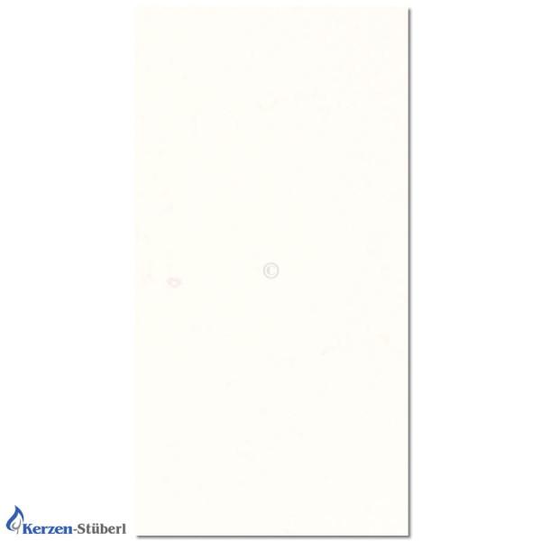 Wachsplatte-Weiß Test