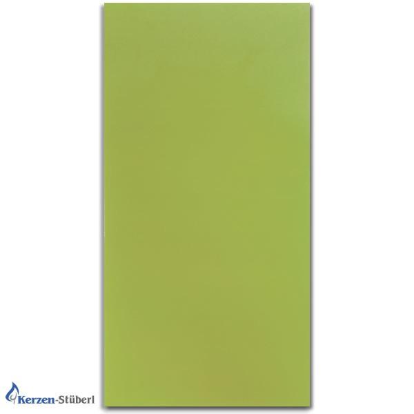 Wachsplatten Grün Verzierwachsplatten