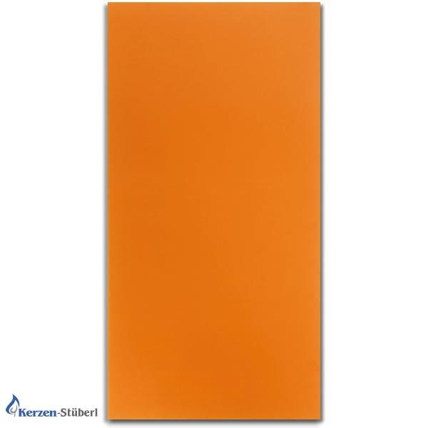 Wachsplatten Orange