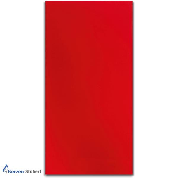 Wachsplatten Rot Verzierwachsplatten