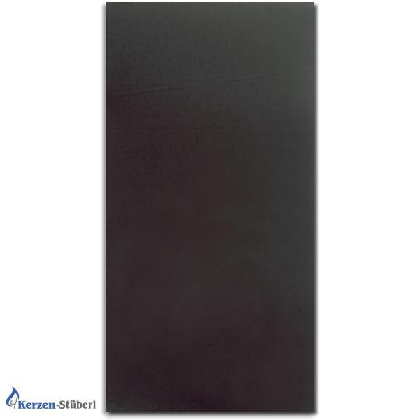 Wachsplatten Schwarz-Black Verzierwachsplatten