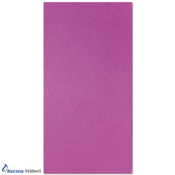Violette Wachsplatten zum Kerzen verzieren Test