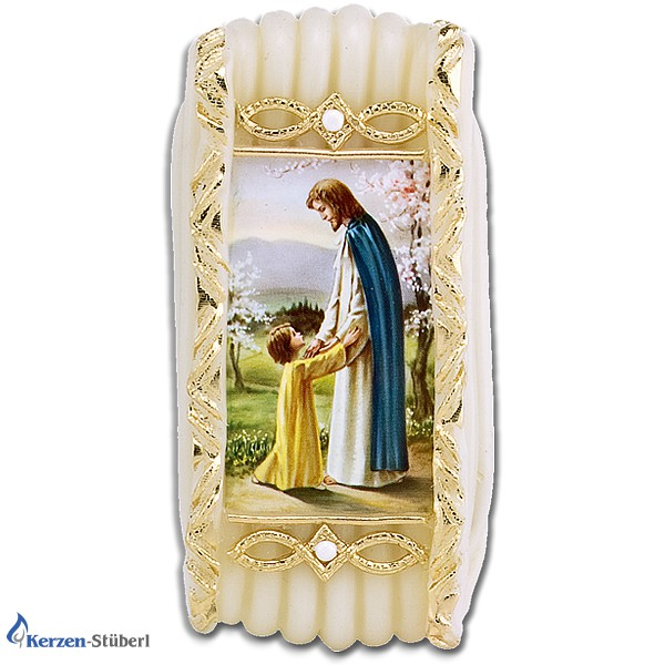 Wachsstock, Wachsstöckl - Jesus mit Kind