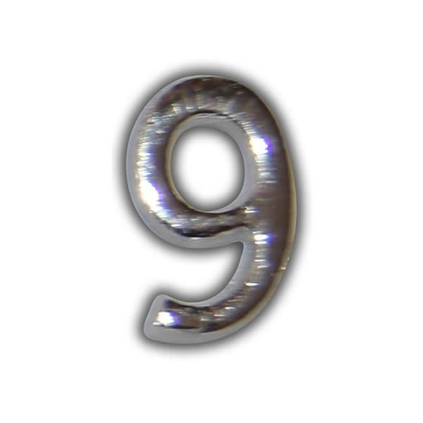 """Wachszahl """"9-Nummer Neun"""" in Silber Test"""