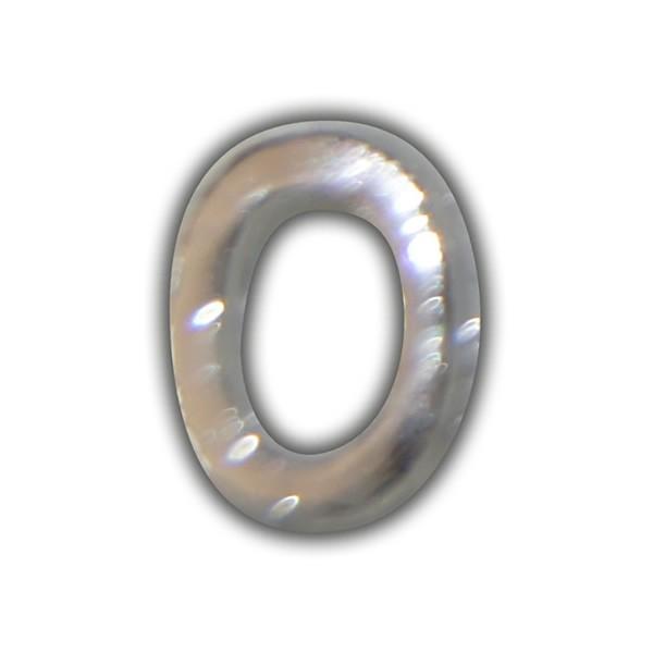 """Wachszahl """"0-Nummer Null"""" in Silber Test"""