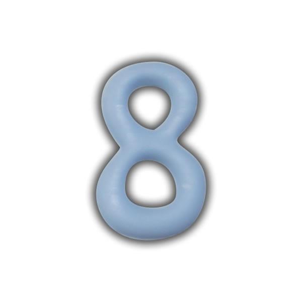 Wachszahlen #8 zum Taufkerzen beschriften Test
