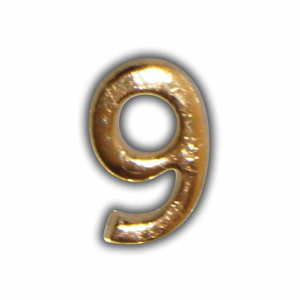 """Wachszahl """"9-Nummer Neun"""" in Gold Test"""