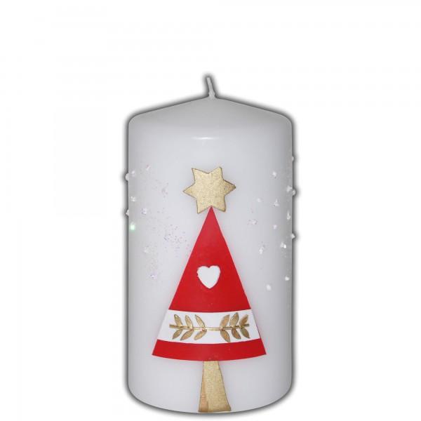 Weihnachtskerz-Adventskerze Test