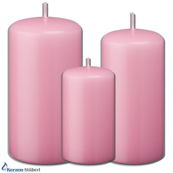 Weihnachtskerzen-Adventskerzen Rosa-Pink Test