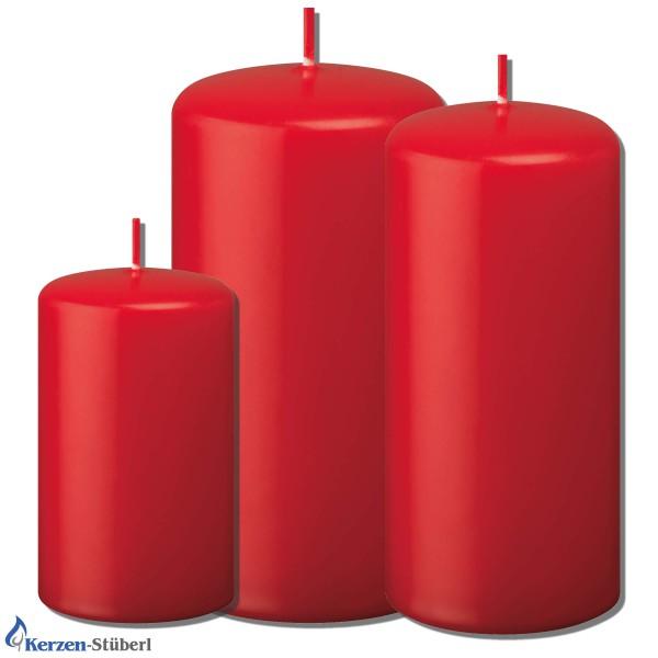 Weihnachtskerzen-Adventskerzen Rot